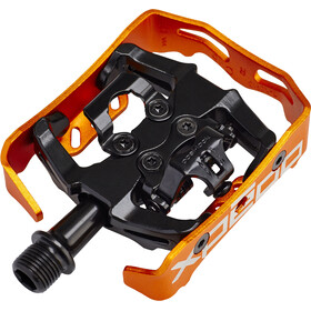 Xpedo Clipless Milo Pedals black/orange